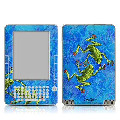Kindle 2 Skin - Tiger Frogs
