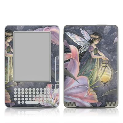 Kindle 2 Skin - Twilight Lilies