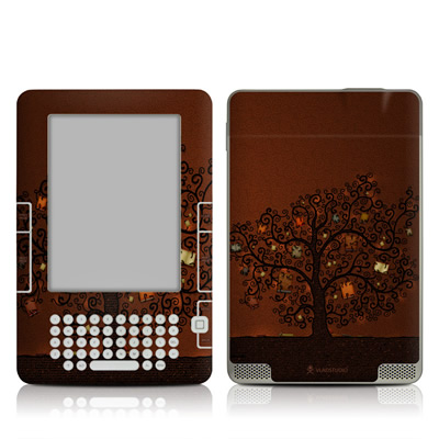 Kindle 2 Skin - Tree Of Books