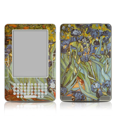Kindle 2 Skin - Irises