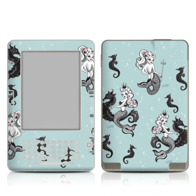 Kindle 2 Skin - Vintage Mermaid