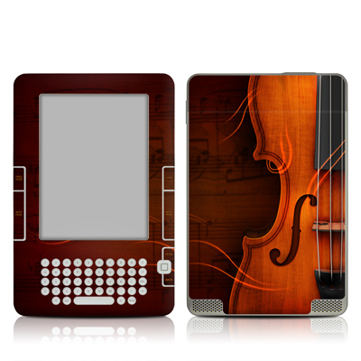 Kindle 2 Skin - Violin