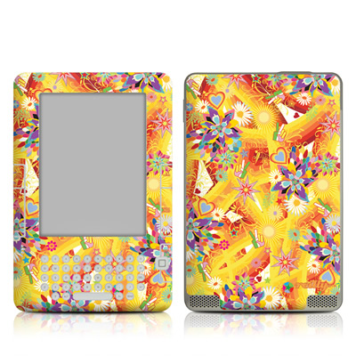 Kindle 2 Skin - Wall Flower