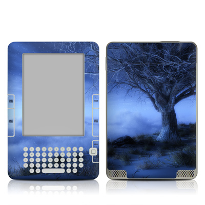 Kindle 2 Skin - World's Edge Winter