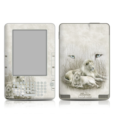 Kindle 2 Skin - White Lion