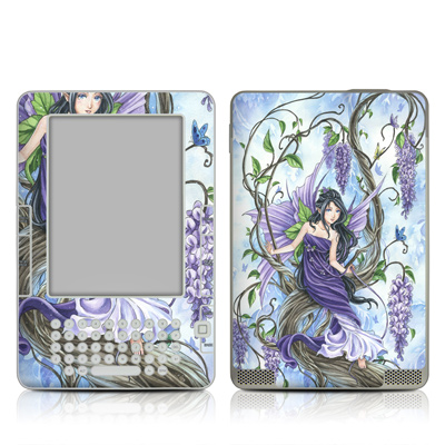 Kindle 2 Skin - Wisteria