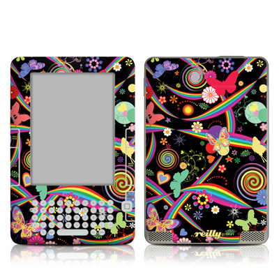 Kindle 2 Skin - Wonderland