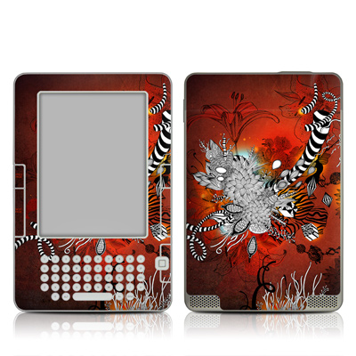Kindle 2 Skin - Wild Lilly