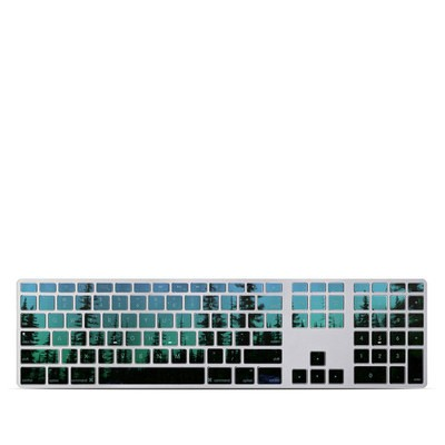 Apple Keyboard With Numeric Keypad Skin - Aurora