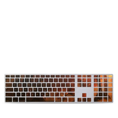 Apple Keyboard With Numeric Keypad Skin - Canopy Creek Autumn