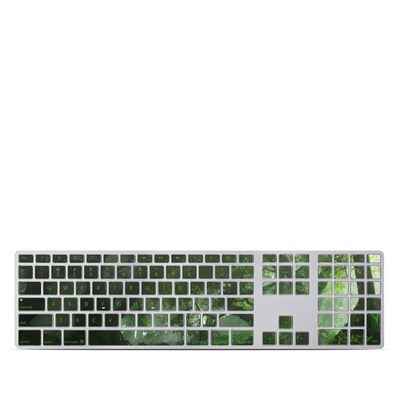 Apple Keyboard With Numeric Keypad Skin - Canopy Creek Spring