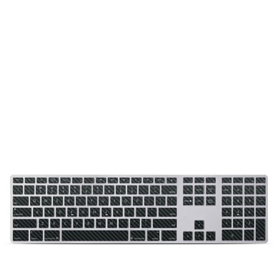 Apple Keyboard With Numeric Keypad Skin - Carbon