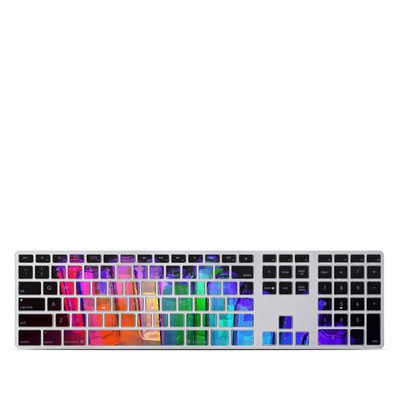 Apple Keyboard With Numeric Keypad Skin - Dispersion