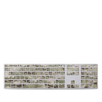 Apple Keyboard With Numeric Keypad Skin - FC Camo