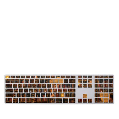 Apple Keyboard With Numeric Keypad Skin - Google Data Center