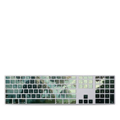 Apple Keyboard With Numeric Keypad Skin - Invasion