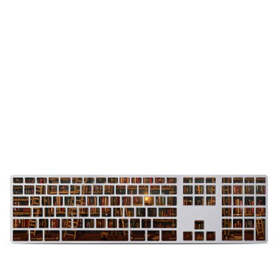 Apple Keyboard With Numeric Keypad Skin - Library