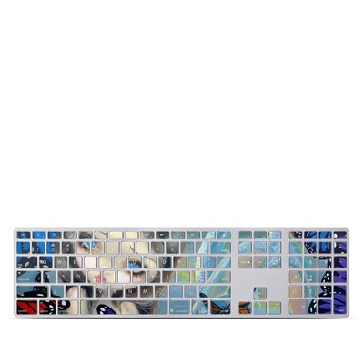 Apple Keyboard With Numeric Keypad Skin - Mermaid