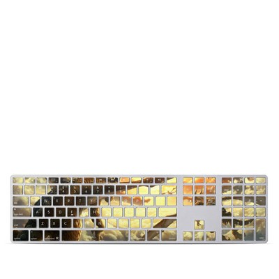 Apple Keyboard With Numeric Keypad Skin - Over the Clouds