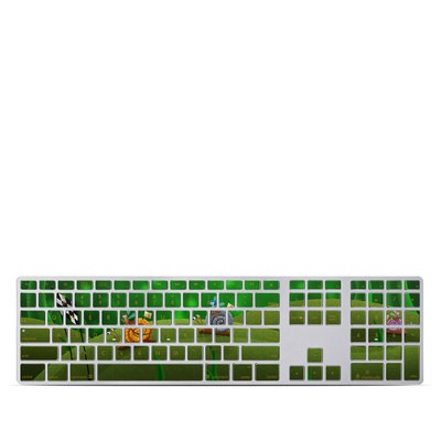 Apple Keyboard With Numeric Keypad Skin - Snail Race
