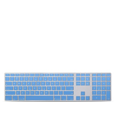 Apple Keyboard With Numeric Keypad Skin - Solid State Blue