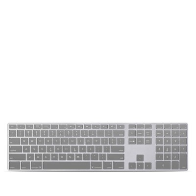 Apple Keyboard With Numeric Keypad Skin - Solid State Grey