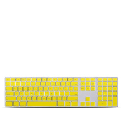 Apple Keyboard With Numeric Keypad Skin - Solid State Yellow