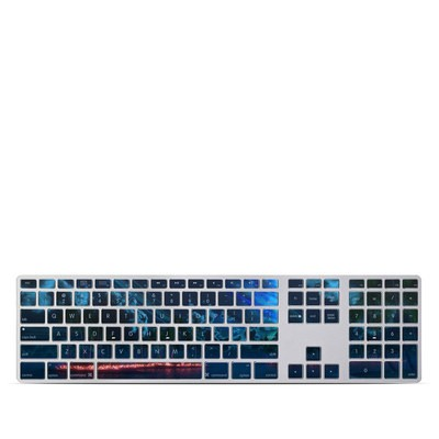 Apple Keyboard With Numeric Keypad Skin - Thetis Nightfall