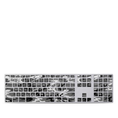 Apple Keyboard With Numeric Keypad Skin - Urban Camo