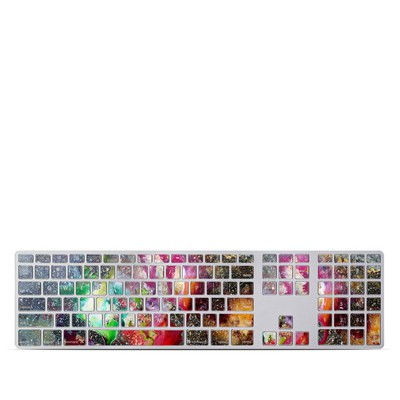 Apple Keyboard With Numeric Keypad Skin - Universe