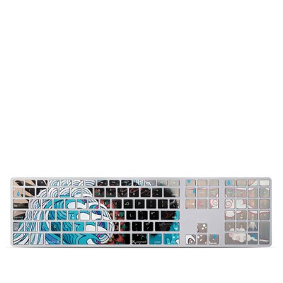 Apple Keyboard With Numeric Keypad Skin - Unstoppabull