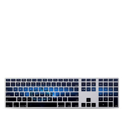 Apple Keyboard With Numeric Keypad Skin - Water Hole