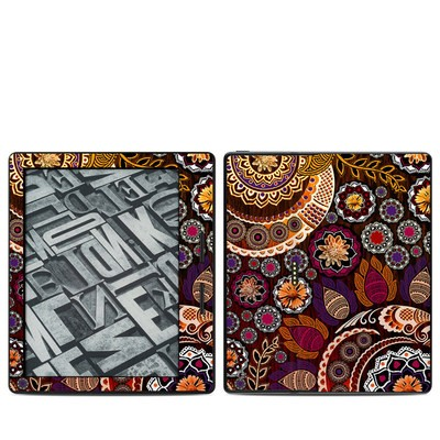 Amazon Kindle Oasis Skin - Autumn Mehndi