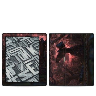 Amazon Kindle Oasis Skin - Black Angel