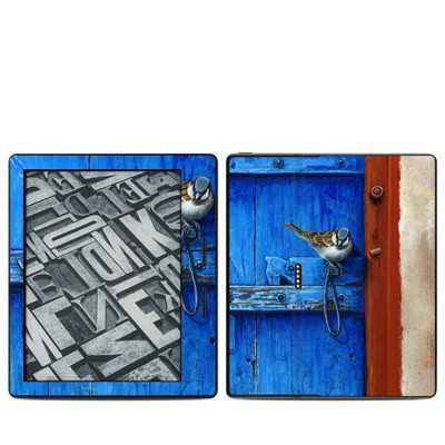 Amazon Kindle Oasis Skin - Blue Door