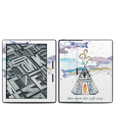 Amazon Kindle Oasis Skin - Boho Teepee