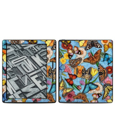 Amazon Kindle Oasis Skin - Butterfly Land