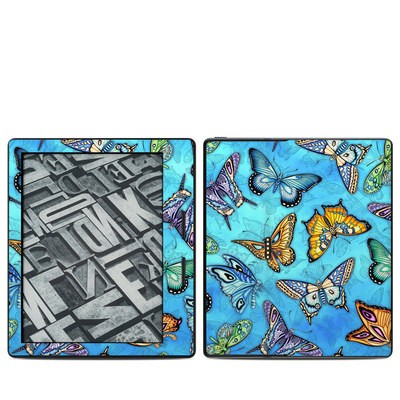 Amazon Kindle Oasis Skin - Butterflies