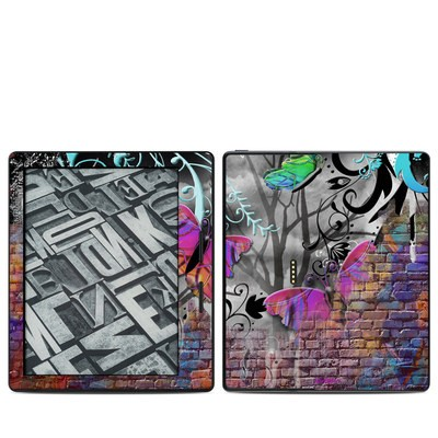 Amazon Kindle Oasis Skin - Butterfly Wall