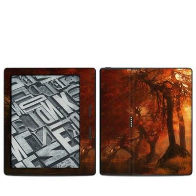 Amazon Kindle Oasis Skin - Canopy Creek Autumn
