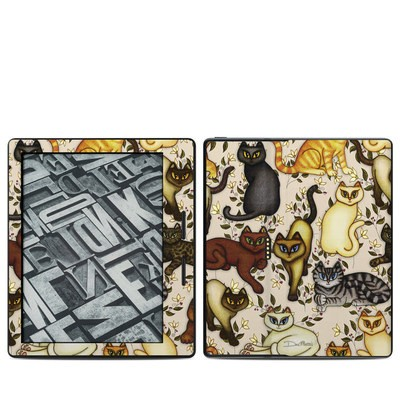 Amazon Kindle Oasis Skin - Cats