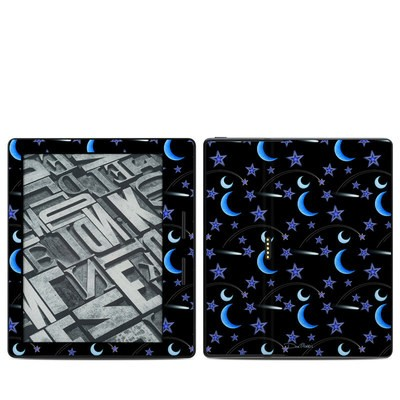 Amazon Kindle Oasis Skin - Crescent Moons