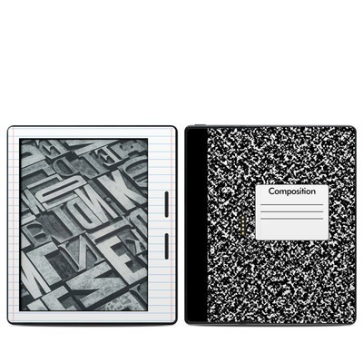 Amazon Kindle Oasis Skin - Composition Notebook