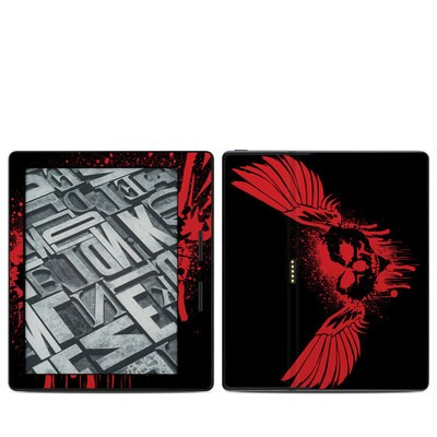 Amazon Kindle Oasis Skin - Dark Heart Stains