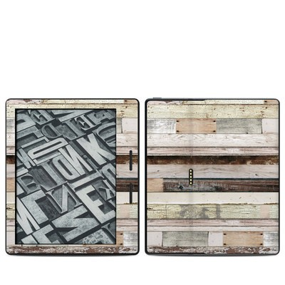 Amazon Kindle Oasis Skin - Eclectic Wood