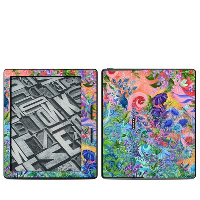 Amazon Kindle Oasis Skin - Fantasy Garden