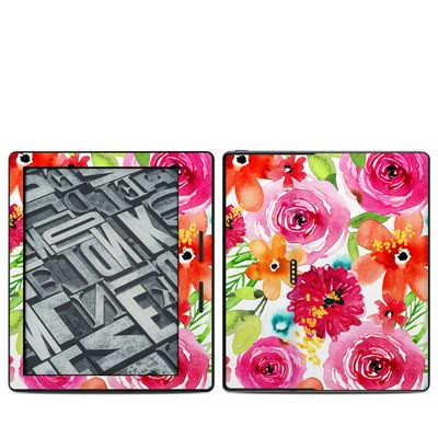 Amazon Kindle Oasis Skin - Floral Pop