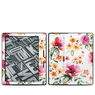 Amazon Kindle Oasis Skin - Fresh Flowers