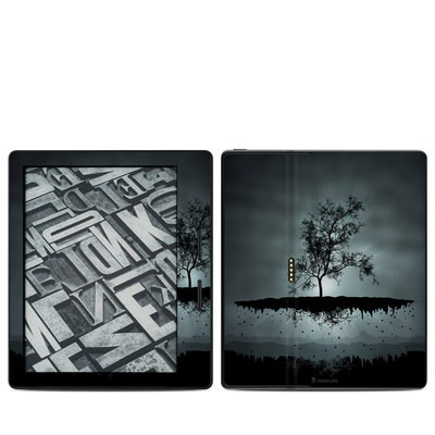 Amazon Kindle Oasis Skin - Flying Tree Black