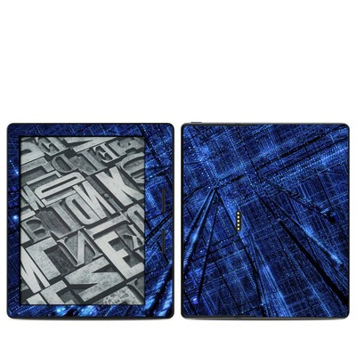 Amazon Kindle Oasis Skin - Grid